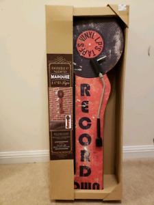 Led sign, Double sided Vinyl