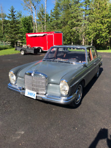 German Classic Car 1966 Mercedes Benz 250 S All Orginal