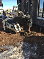 Walk behind bobcat - only 36'' needed for clearance!