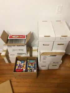 Lot de 1400 Comic Books Marvel et DC + Others