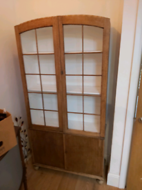 Antique upcycled bookcase