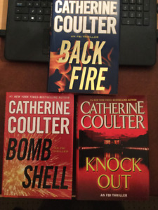 3 Hardcover Crime Fiction Books by Catherine Coulter