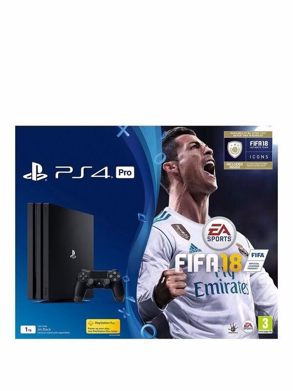 Playstation 4 PRO with Fifa 18 brand new and boxed. 335 O.N.O