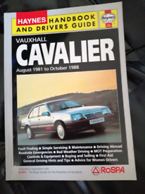 HAYNES Sevice /Handbook for Vauxhall Cavalier