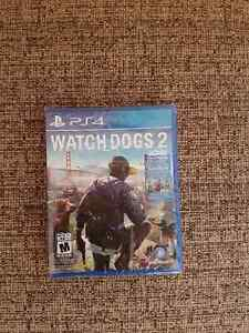PS4 Watchdogs 2 - New - Sealed and Unopened