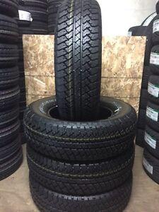 4-P255/70/18 Bridgestone Dueler AT RHS tires installed!!!!