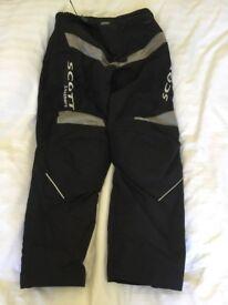 Scott textile motorcycle trousers XL