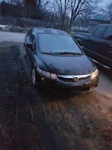 09 honda civic 190,000kms 5 speed etested