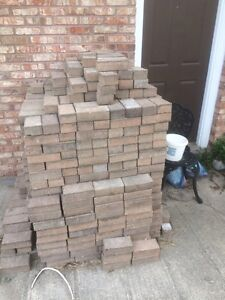 Pavers, interlocking bricks