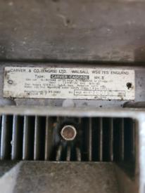 Carver cascade water heater