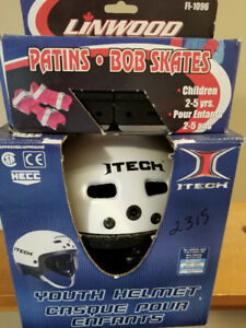 Childs Bob Skates and Helmet