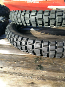 Street and trail dirt bike tires