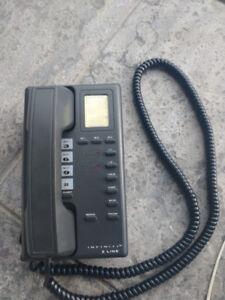 Black Infiniti 2 line home phone