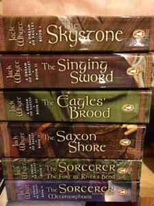 Jack Whyte A Dream of Eagles Book Set