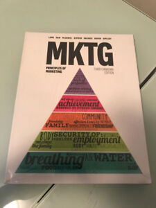 MKTG - principles of marketing third Canadian edition