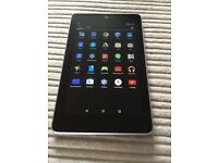 Google Nexus 7 Tablet - Like New - Inclusive of case and charger