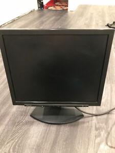 """Sharp 17"""" LCD computer monitor"""