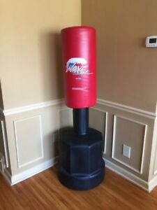Wave master punching bag- Adjustable, stand alone