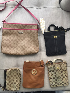 MOVING SALE : Michael Kors and Coach Bags!!!!!