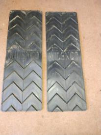 Motorhome anti slip tyre boards