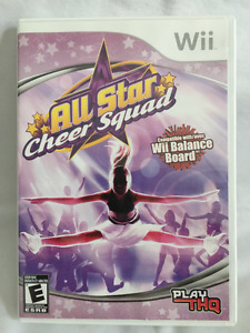 "Wii ""All Star Cheer Squad"""