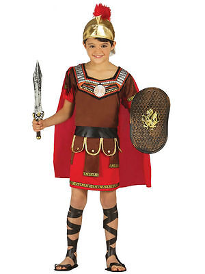 CENTURION ROMAN SOLDIER CHILD COSTUME FANCY DRESS 3 SIZES