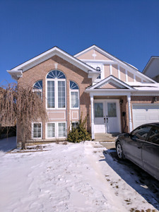 Available May 1.  Barrie Beautiful 3 bedroom house apartment