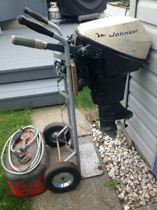 Used 1971 Johnson 9.5 hp