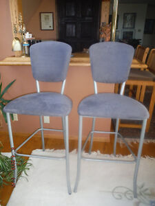Bar Stools (Faux suede)