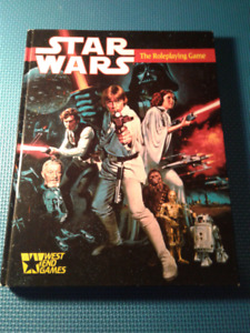 STAR WARS: The Roleplaying Game (hardcover) by West End Games