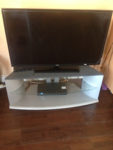Samsung  T V and stand