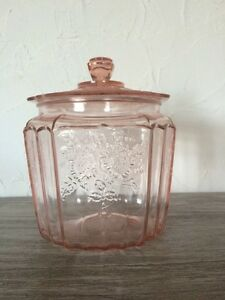1930's Hocking Pink Mayfair Depression Glass