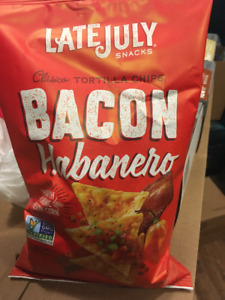 Late July Bacon Habanero Tortilla Chips