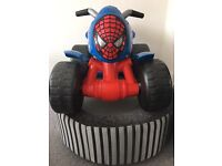 Ride on Spider-Man Electric Quad Bike