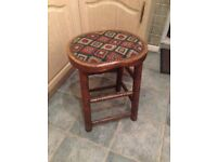 Nice old wooden stool