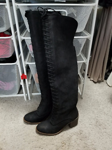 Brand New Lucky Brand Genuine Leather Boots