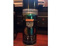 Land Rover Epsom Green (Pearl) Touch Up Paint Hycote Double Acrylic