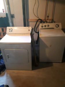 Washer and dryer for sale  SOLD PPU