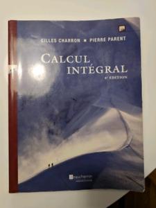 Livres de calcul intégral, chimie et physique
