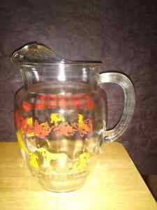 Large vintage glass water  jug London Ontario image 2