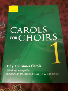 Carols for Choirs music book