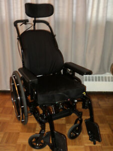 USED INVACARE CONCEPT 45 WHEEL CHAIR