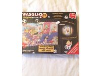 WASGU original puzzle. Football fever. New/sealed