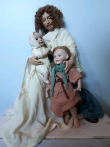 The Ashton-Drake Galleries. Spiritual Porcelain dolls.