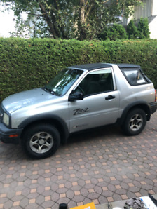 Chevrolet Tracker ZR2 2003  decapotable 4X4