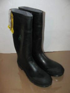 Never Worn Size 12 Baffin STP Mens Rubber Boots Steel Toe