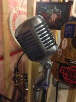 Vintage 1955 Shure Brothers 55s Microphone....Near Mint