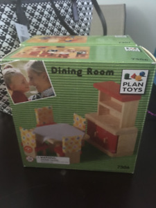Plan Toys Dollhouse Furniture-NEW IN BOX