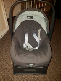 Mamas and papas baby car seat with base