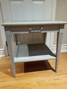 Grey side / end table